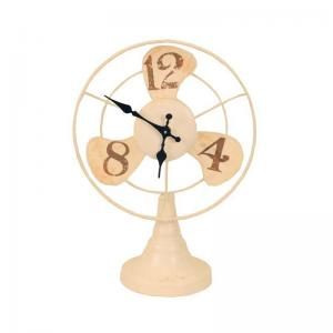 fan-clock-white - wall-clocks
